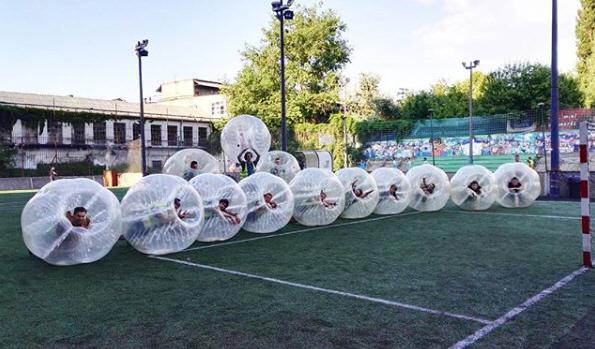 Buborékfoci bérlés Budapesten
