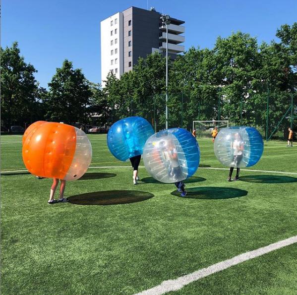 Buborékfoci rendezvényekre