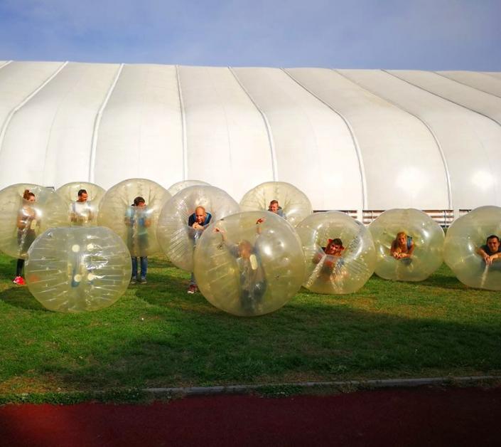 Buborékfoci születésnapi rendezvényre