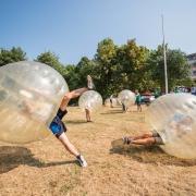 A buborékfoci történelme